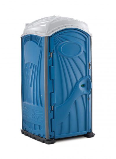 Aspen Toilettenkabine blau vermietung Aachen