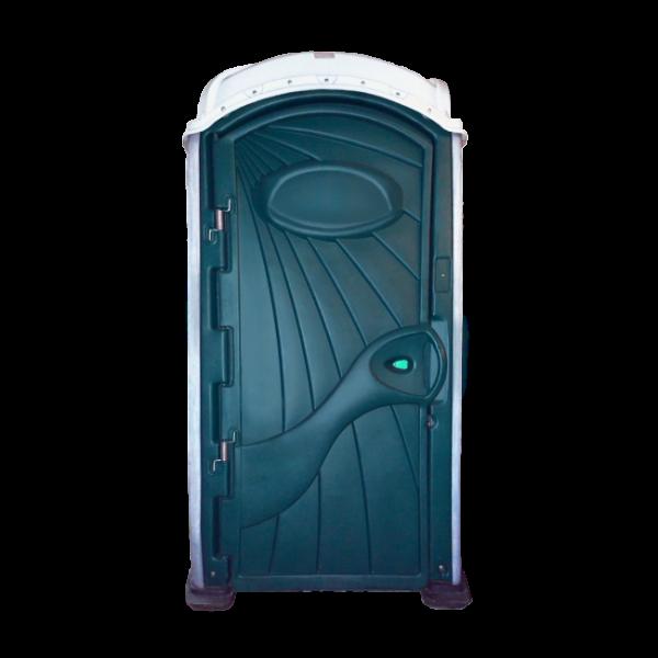 Mobile Toilette Aachen - Aspen Toilettenkabine grün weiss