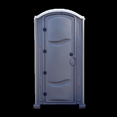 Mobile Toilette Aachen - Meridian Toilettenkabine grau weiss