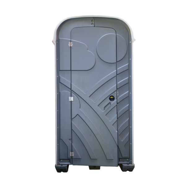 Mobile Toilette Aachen - Mondo Toilettenkabine Universal grau
