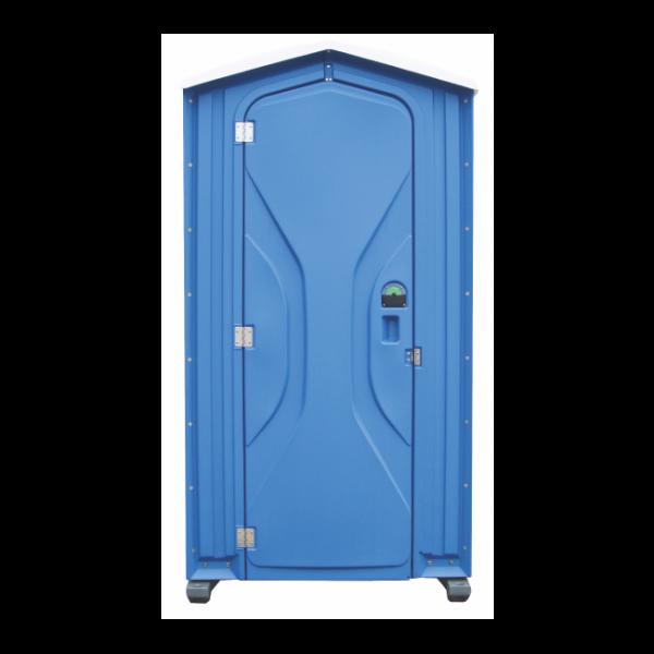 Mobile Toilette Aachen - Tufway Toilettenkabine blau