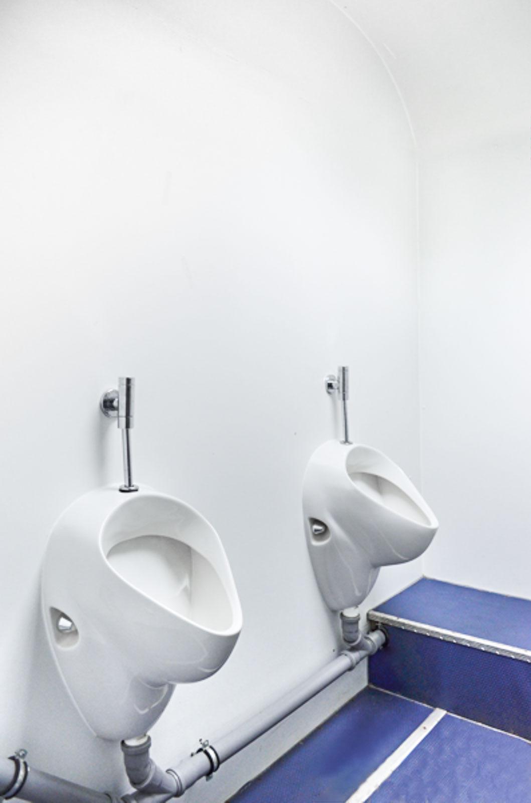 Toiletten Vermietung Aachen - Toilettenwagen mit Urinal