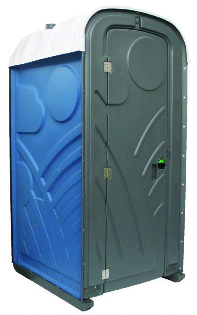 Toilettenkabine mieten Mondo blau in Aachen