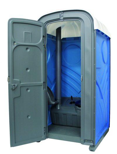 ToiletteToilettenkabine mieten mit WC und Urinal Mondo blau in Aachennkabine mieten mit WC und Urinal in Aachen