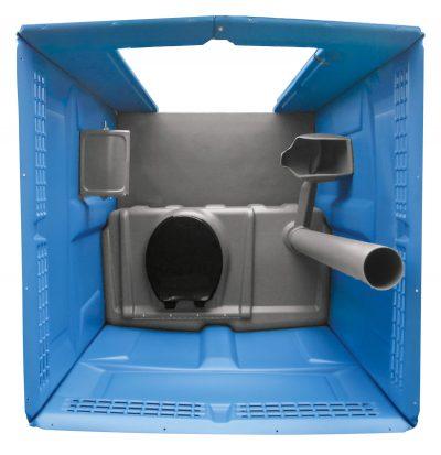 Tufway Toilettenkabine mieten - Innenausstattung oben